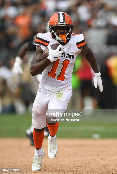 e9fd9ca00 Antonio Callaway of the Cleveland Browns runs with the ball up the field on  a 59