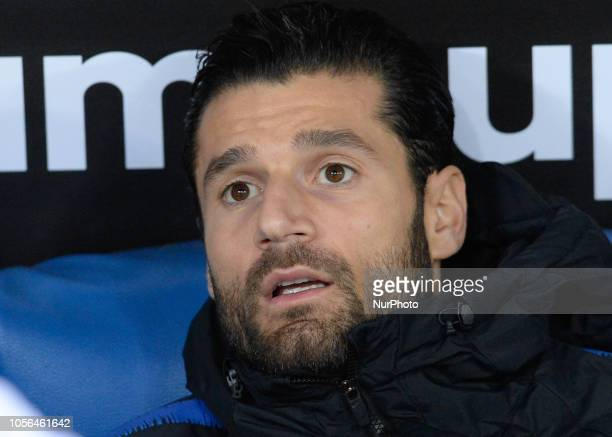 Antonio Candreva during the Italian Serie A football match between SS Lazio and Inter at the Olympic Stadium in Rome on october 29 2018