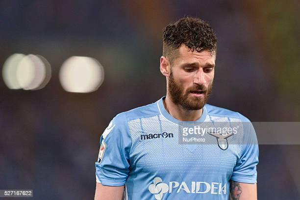 Antonio Candreva during the Italian Serie A football match between SS Lazio and FC Inter at the Olympic Stadium in Rome on may 01 2016