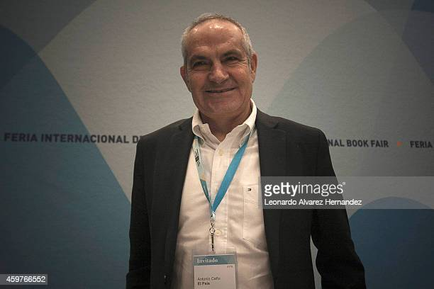 Antonio Caño Director of the newspaper El País attends the Guadalajara International Book Fair 2014 at Juan Rulfo Auditorium on November 30 2014 in...