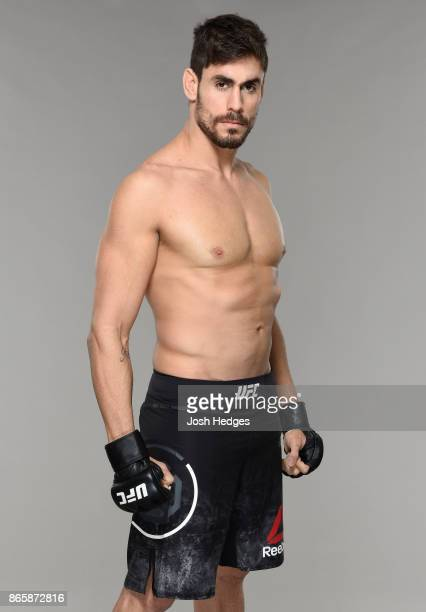 Antonio Carlos Junior of Brazil poses for a portrait during a UFC photo session on October 24 2017 in Sao Paulo Brazil