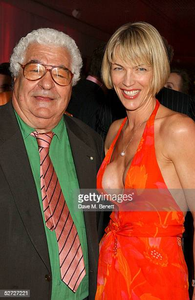 Antonio Carluccio and Cynthia Conran attend the LaurentPerrier Pink Party in aid of The Prince's Trust at the Sanderson Hotel on April 27 2005 in...