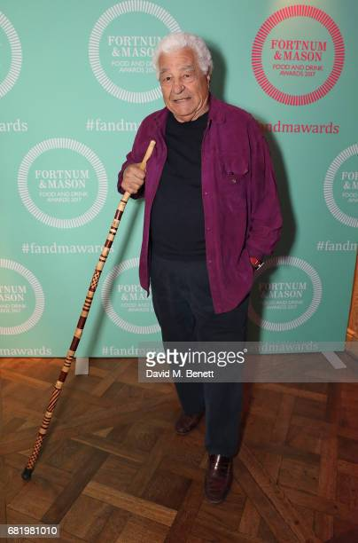 Antonio Carluccio at the fifth annual Fortnum Mason Food and Drink Awards on May 11 2017 in London England