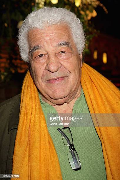 Antonio Carluccio attends the 2012 Orion Authors' Party at the Natural History Museum at the Natural History Museum on February 20 2012 in London...