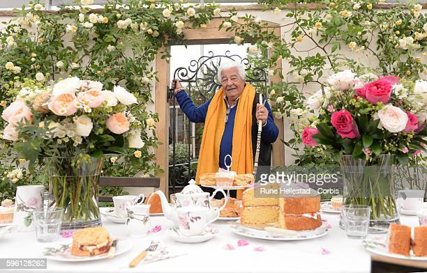 Antonio Carluccio attends the Chelsea Flower Show at The Royal Hospital Chelsea