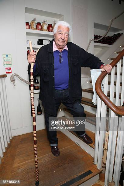 Antonio Carluccio attends the launch of new book 'Eggs Or Anarchy' by William Sitwell at Li Veli on June 1 2016 in London England