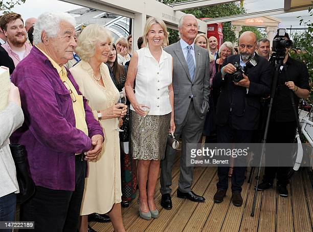 Antonio Carluccio Camilla Duchess of Cornwall Hilary Weston and Galen Weston attend as Tom Parker Bowles launches his new cookbook 'Let's Eat Recipes...