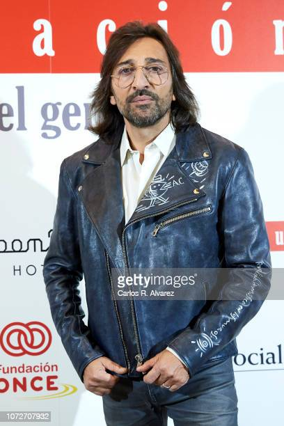 Antonio Carmona attends 'Estrellas por la Ciencia' gala at the Canal Theater on November 26 2018 in Madrid Spain
