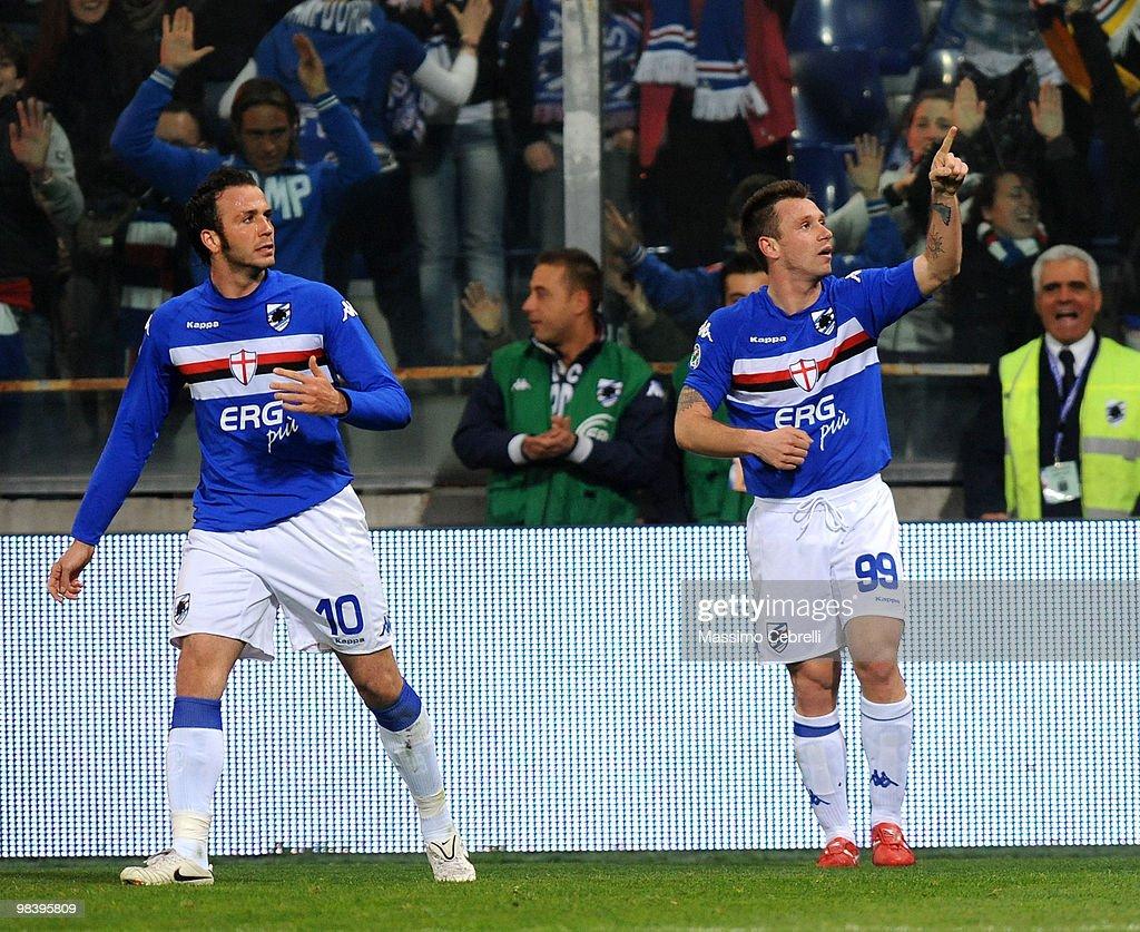 UC Sampdoria v Genoa CFC - Serie A : News Photo