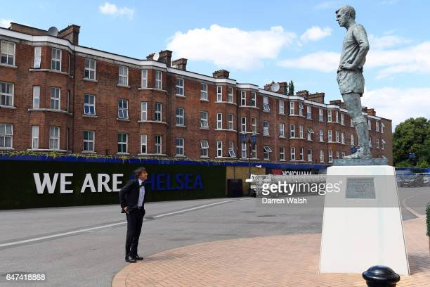 Antonio Conte at Stamford Bridge on July 14 2016 in London England