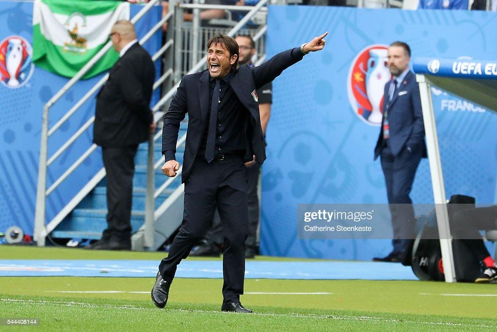 Italy v Spain - Round of 16: UEFA Euro 2016 : News Photo