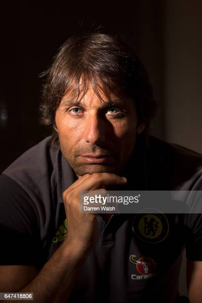 Antonio Conte of Chelsea during a Chelsea Magazine Feature at Loews Hotel on August 2 2016 in Minneapolis Minnesota