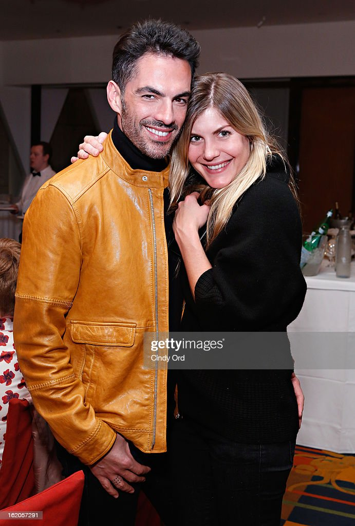 Antonio Corral-Calero and Emily Lohrman attend the Gotham Magazine & Moroccanoil Celebrate With Step Up Women's Network event on February 18, 2013 in New York City.