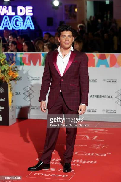 Antonio Cortes attends the 'Malaga' award 2019 during the 22th Malaga Film Festival at the Cervantes Theater on March 17 2019 in Malaga Spain