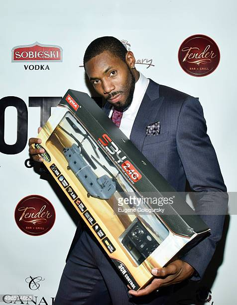 Antonio Cromartie attends the GOTHAM Men's event with host Antonio Cromartie at Tender Restaurant in The Sanctuary Hotel at Tender at the Sanctuary...