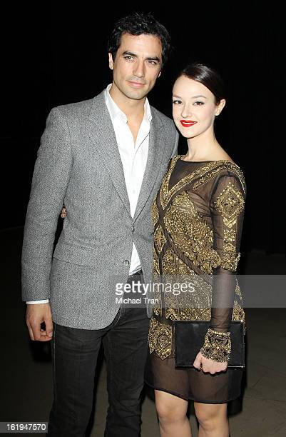 Antonio Cupo and Marta Gastini arrive at The 8th Annual Los Angeles Italia Film Fashion And Art Festival held at Chinese 6 Theatres on February 17...