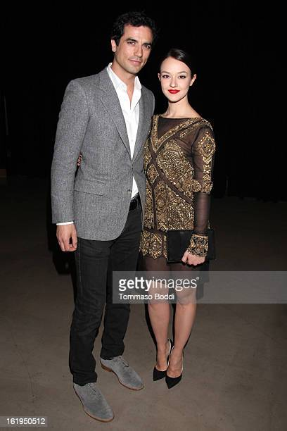 Antonio Cupo and Marta Gastini attend the 8th annual Los Angeles Italia Film Fashion and Art Festival opening night ceremony held at Mann Chinese 6...