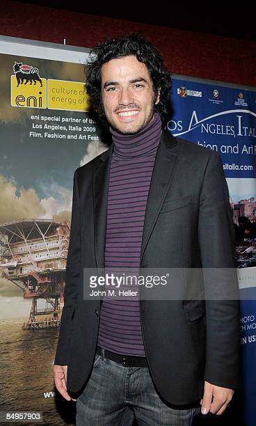 Antonio Cupo attends the 4th Annual Los Angeles Italia Film Fashion And Art Festival at the Mann Chinese 6 Theaters at Hollywood Highland on February...