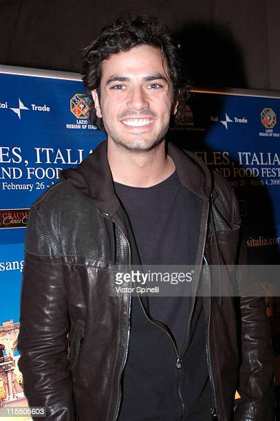 Antonio Cupo during The 2006 Italian Film Fashion and Food Fest Opening Night in Los Angeles California United States