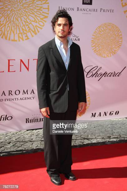 Antonio Cupo during the Valentino 45th anniversary July 7 2007 in Rome Italy
