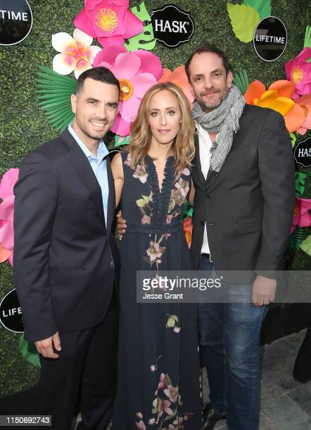 Antonio Cupo Kim Raver and Manu Boyer attend the Lifetime Summer Luau on May 20 2019 in Los Angeles California