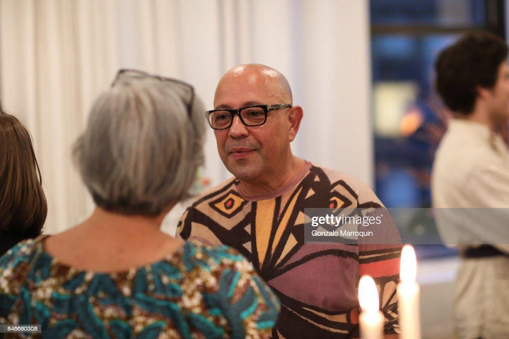 Antonio da Motta Leal attends the Atlantica Collection by Antonio da Motta Leal for Alexander Lamont on September 13, 2017 in New York City.