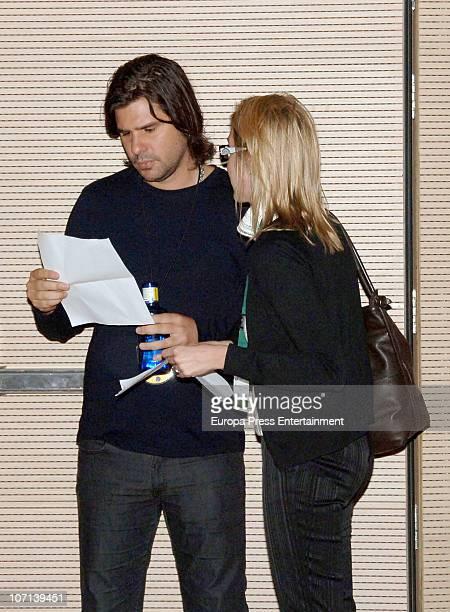 Antonio de la Rua attends the Freixenet press conference at the Hotel W on November 24 2010 in Barcelona Spain