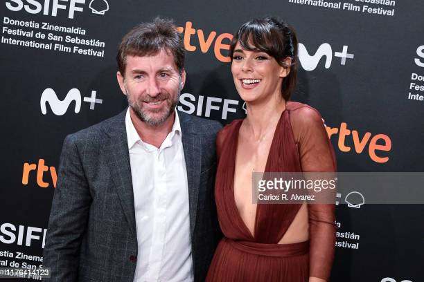 Antonio de la Torre and Belen Cuesta attend 'La Trinchera Infinita ' premiere during 67th San Sebastian Film Festival at Kursaal, San Sebastian on...