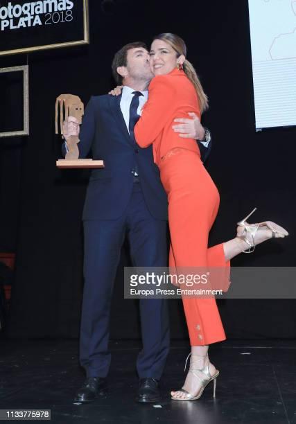 Antonio de la Torre and Juana Acosta attend 'Fotogramas de Plata 2018' at Florida Park Club on March 04 2019 in Madrid Spain