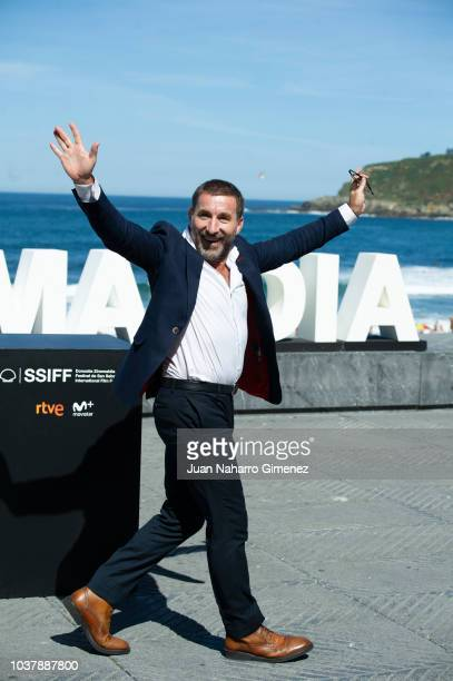 Antonio de la Torre attends 'El Reino' photocall during the 66th San Sebastian International Film Festival at Kursaal, San Sebastian on September 22,...