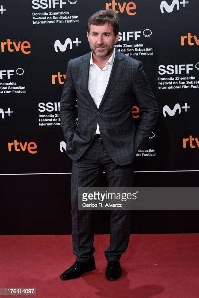 Antonio de la Torre attends 'La Trinchera Infinita ' premiere during 67th San Sebastian Film Festival at Kursaal, San Sebastian on September 22, 2019...