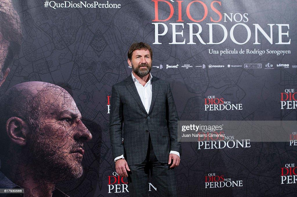 'Que Dios Nos Perdone' Madrid Photocall