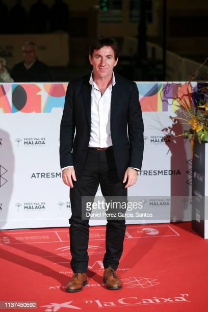 Antonio de la Torre attends '¿Que Te Juegas' premiere at the Cervantes Theater during the 22nd Malaga Film Festival on March 21 2019 in Malaga Spain