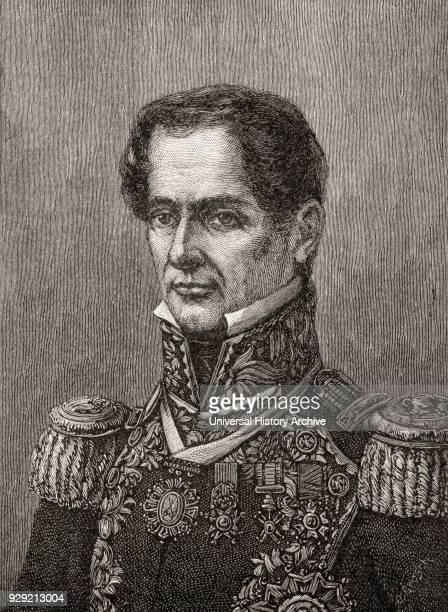Antonio de Padua María Severino López de Santa Anna y Pérez de Lebró 1794 – 1876 aka Santa Anna or López de Santa Anna and sometimes called 'the...