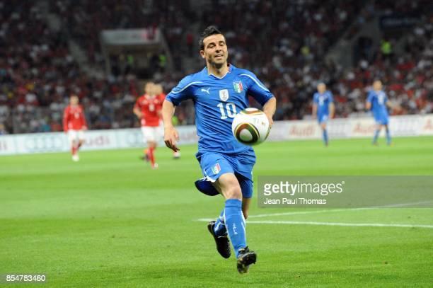 Antonio DI NATALE Suisse / Italie Match de preparation Coupe du Monde 2010 Stade de Geneve