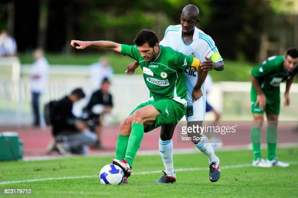 Antonio DI NATALE / Charles KABORE Marseille / Udinese Match Amical Bayonne