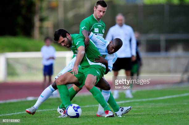 Antonio DI NATALE / Chris GADI Marseille / Udinese Match Amical Bayonne