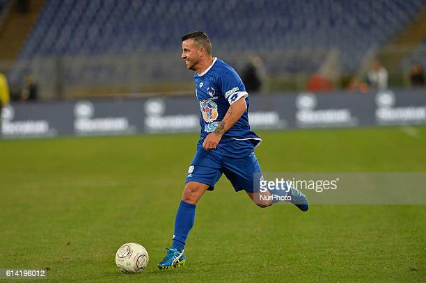 Antonio Di Natale during the match for the peace Uniti per la Pace at the Olympic Stadium in Rome on october 12 2016