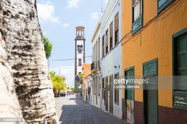 'Antonio Domínguez Alfonso' street, knowed as 'La Noria' street, in Santa Cruz de Tenerife city, Canary Islands