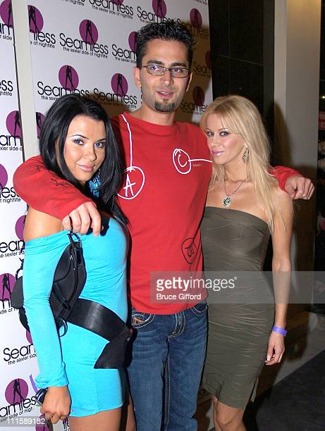 Antonio Esfandiari and Seamless Girls during Seamless Adult Ultra Lounge Grand Opening at Seamless Adult Ultra Lounge in Las Vegas Nevada Great...