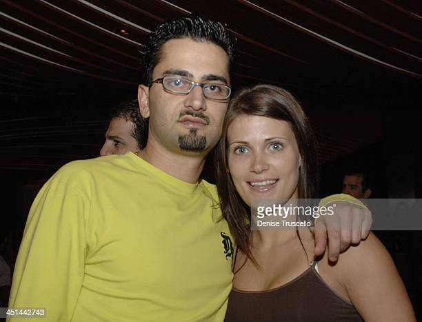 Antonio Esfandiari and Victoria Pleh during Fix Restaurant 1st Anniversary Party at Fix Restaurant in The Bellagio Hotel and Casino Resort in Las...
