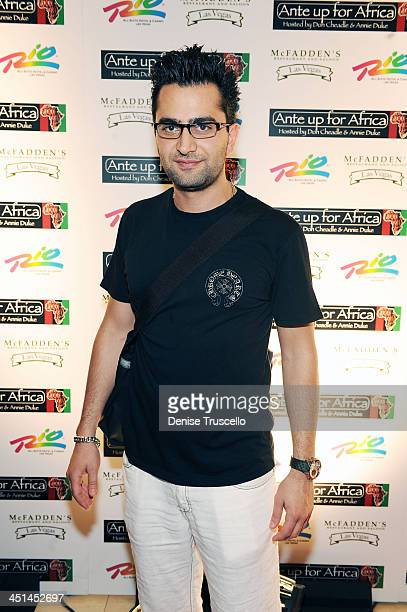 Antonio Esfandiari arrives at the 3rd Annual Ante Up for Africa Poker Tournament at The Rio Hotel And Casino Resort on July 2 2009 in Las Vegas Nevada