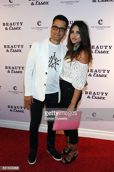 Antonio Esfandiari avec jolie, femme Amal Bounahra