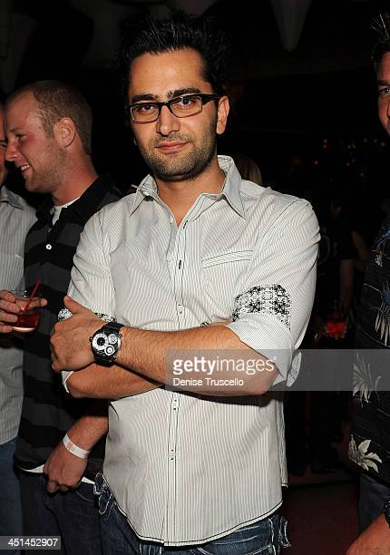 Antonio Esfandiari attends Blush Nightclub at The Wynn Hotel And Casino Resort on July 2 2009 in Las Vegas Nevada