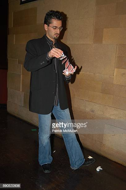 Antonio Esfandiari attends Lotus and Borgata Hotel Casino Host First Annual NYC Poker Championship at Lotus on January 18 2005 in New York City
