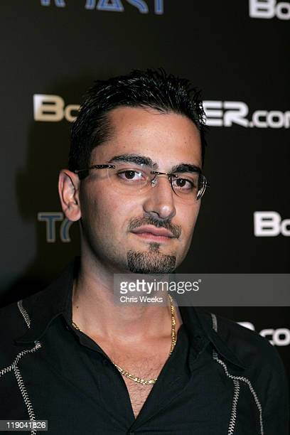 Antonio Esfandiari during BosPokercom 2004 Celebrity Poker Tournament Inside at Private Residence in Beverly Hills California United States