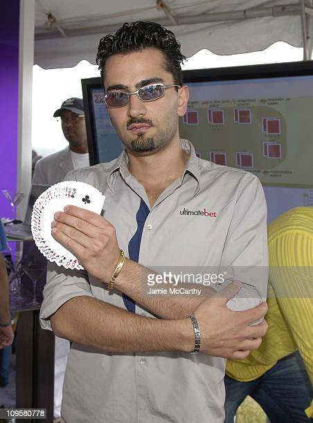 Antonio Esfandiari during Yahoo MercedesBenz Polo Challenge VIP Lounge at Bridgehampton Polo Club Two Trees Farm in Bridgehampton New York United...