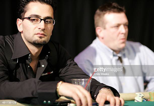 Antonio Esfandiari The Magician during World Poker Tour Invitational at Commerce Casino in Commerce California United States