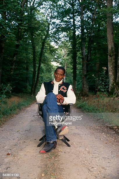 Antonio Fargas during the filming of the television series Belle anglaise episode Weekend surprise