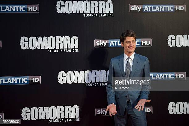 Antonio Folletto attends the 'Gomorra 2 - La serie' on red carpets at The Teatro dell'Opera in Rome, Italy on May 10, 2016.